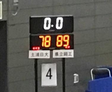 【インターハイバスケ2016】岡山工業がWC準優勝の土浦日大に逆転勝ち!杉本天昇はU-18アジア選手権で不在