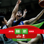 【バスケ男子アジア杯】ベスト8を賭けた一戦で日本は終盤に得点が停滞…韓国に完敗を喫する