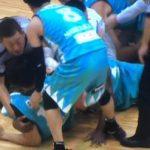 【B.LEAGUE】滋賀・京都戦で乱闘!デイビッド・ウィーバー、佐藤託矢の2選手が退場