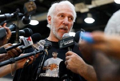 ダンカン引退にポポビッチ監督「彼に代わる人間はいない」
