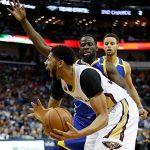ドレイモンド・グリーンのクラッチ・スティール&今季初トリプル・ダブルの活躍でGSWが接戦を制す【NBA 2016-17】