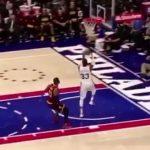 レブロン・ジェームズの超能力と通算45回目のTDでキャブスがシクサーズに辛勝【NBA 2016-17】