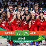 女子バスケアジア杯決勝で日本がオーストラリアを一点差で振り切り大会3連覇!