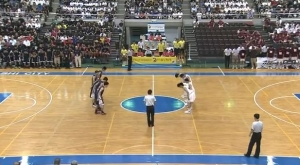高校総体2014 男子バスケ決勝 明誠 vs 福岡大附大濠