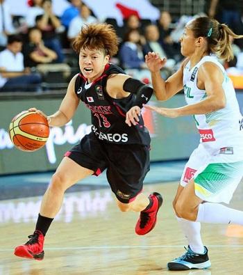 【女子世界バスケ】日本、ブラジルに56―79で完敗、3連敗で1次リーグ敗退