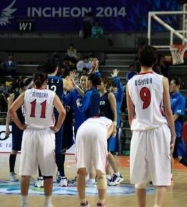 日本、男女とも韓国に屈す アジア大会バスケットボール