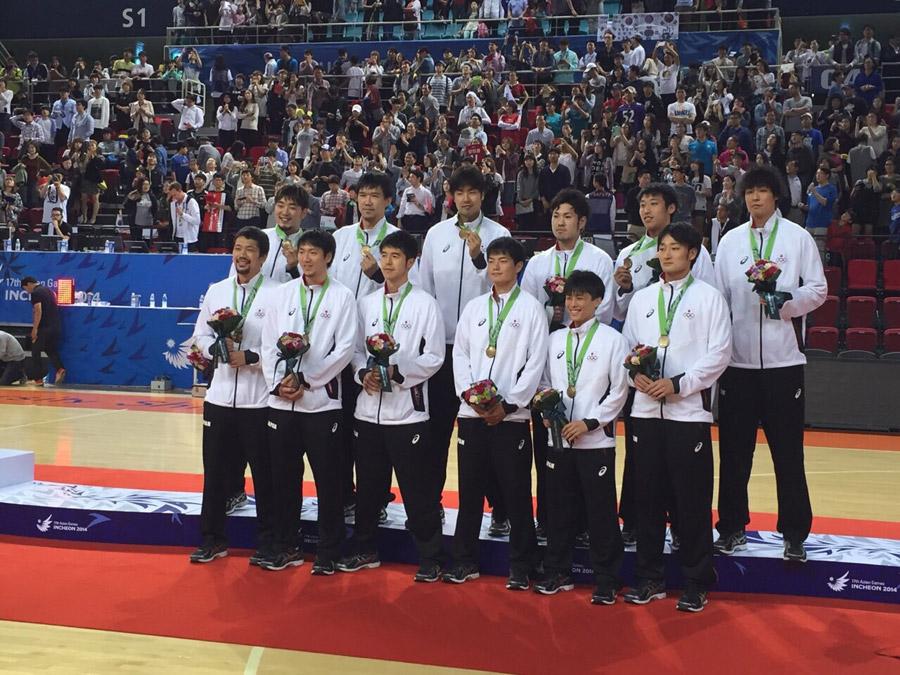 銅メダルハヤブサジャパン