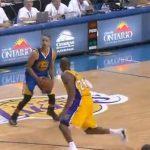 【NBA 2015-16】カリーに遊ばれるコービー…見たくはなかった…