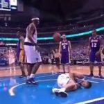 【動画】NBAの痛そうだったエルボーといえば