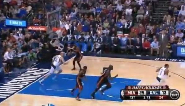 【NBA】マイアミ時代のウェイド→レブロンへのタッチダウンパスすげー
