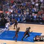 【NBA】マイアミ時代のウェイド→レブロンへのタッチダウンパスが凄い!