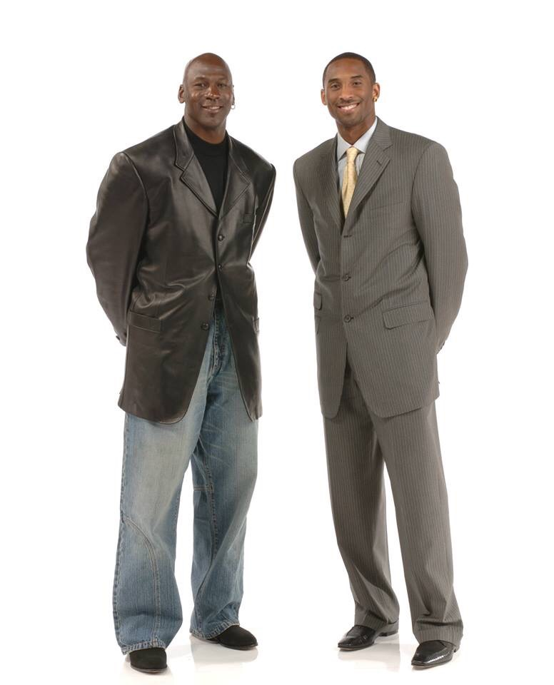 【画像】バスケの神様ことジョーダンの私服wwwwww