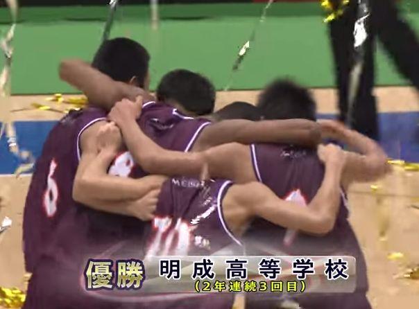 2015年の高校バスケ、明成に勝てる可能性があるチームってある?