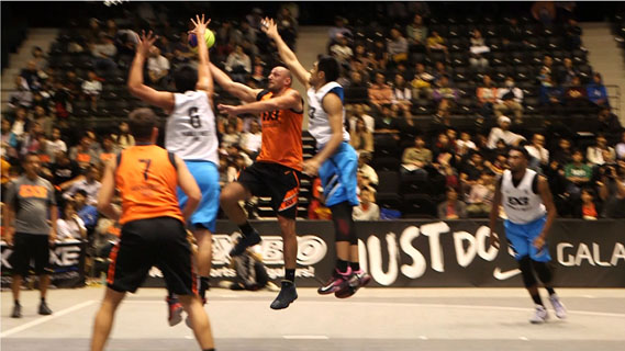 【東京五輪】3人制バスケ・3×3を競技種目にしたい 日本バスケ協会が署名活動展開へ