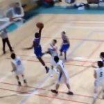 【高校バスケ2015】  帝京長岡の新しい留学生のダンクがやばい …など