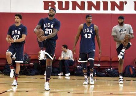 リオ五輪の米国男子バスケ代表が歴代最強クラスな件