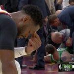 【NBA 2017-18】ゴードン・ヘイワードが開幕戦で左足首を骨折…会場は一時騒然