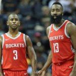 【NBA 2017-18】クリポとハーデンは今のところ共存できてるな!2人で48分間ゲームコントロールできるという強み