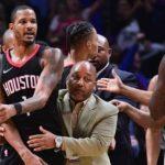 ハーデン、アリーザ、グリーンが試合後にクリッパーズのロッカールームを襲撃!警備員が駆けつける騒ぎに【NBA 2017-18】