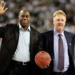 【NBA】マジック・ジョンソン氏とラリー・バード氏に生涯功労賞