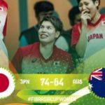 バスケ日本女子がアジア杯準決勝で豪州に76-64で勝利!中国との決勝へ