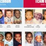 【NBA】2020AS出場選手の幼少期の写真が公開!
