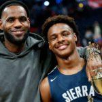 【NBA】レブロンの息子ブロニーの評価が大幅ダウン?!