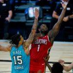 【NBA】4Qに得点を重ねたNOPがバブル初勝利!ザイオン23点イングラム24点