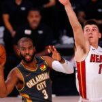 【NBA】OKCがMIAに競り勝ちPO一回戦はHOUと因縁の対決へ