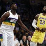 新旧NBAの顔対決はレブロンが貫禄の40得点!ザイオンもADを物ともせずに29得点!