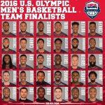 リオ五輪アメリカ代表最終候補者が発表…カワイ・レナードは選出されるべきか