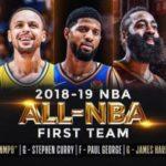 【NBA 2018-19】オールNBAチーム発表!1stと2ndが試合したら面白そう
