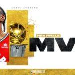 【NBAファイナル2019】FMVPはカワイ・レナード!3年ぶり2度目の受賞!