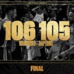 【NBAファイナル2019】第5戦 : KD負傷退場も土壇場で再逆転したGSWがシリーズ2勝目!
