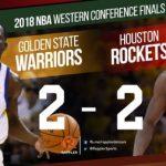 【NBA 2017-18】この4戦を見た上でGSWHOUの勝敗をどう予想する?