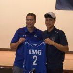 バスケ男子のホープ、田中力が錦織圭も在籍したアメリカの I M G アカデミーへ進学!