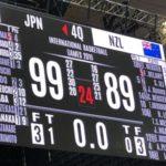 バスケ男子日本代表が99-89でニュージーランドに勝利!八村塁35得点!!