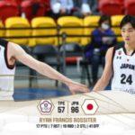 【バスケ男子日本代表】アジアカップ2021予選初戦、アウェイでの台湾戦に39点差で快勝