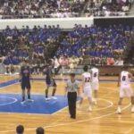 【IHバスケ2017】男子決勝の最後のファールはあの位置から吹いていいの?