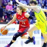 【2016バスケ女子日本代表強化試合】  日本は世界ランク2位のオーストラリアに最終戦は健闘するも3連敗
