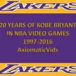 コビー・ブライアントで振り返るNBAゲームの歴史 (1999-2016) グラフィックの進化凄いな!