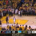【NBAファイナル2016】第1戦…スプラッシュ・ブラザーズ不発もベンチ陣の活躍でGSW快勝!シリーズ早期終了の悪寒…