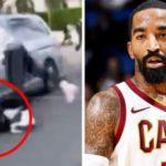 NBA選手のJRスミスさん、クソガキに車の窓を割られブチ切れwww