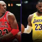 【NBA】ファンからの投票でジョーダンが全ての項目でレブロンを上回る