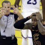 【NBAファイナル2018 GAME1】レブロン50得点の活躍などで勝利が目前に迫るもJRの珍プレーなどが飛び出し延長で痛い敗戦