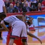 【NBA 2015-16】このプレイでハーデンがファールもらえるのかよ…