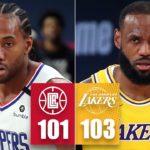 【NBA】レブロンが決勝シュート&好ディフェンスを見せLALが接戦を制する