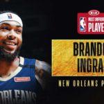 【NBA 2019-20】ブランドン・イングラムがMIPを受賞!