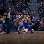 【NBA 2017-18】 カリーが右足首を捻挫…かなり腫れているらしい