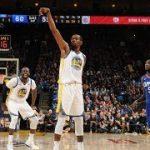 ケビン・デュラントがNBA通算2万得点を達成!20代での到達は史上5人目の偉業【NBA 2017-18】